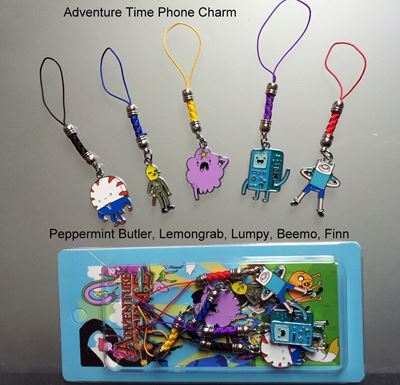 Picture of Adventure Time Phone Metal Charms Set B - Finn