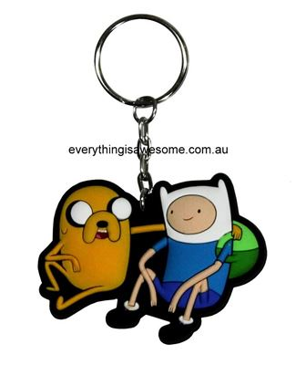 Picture of Adventure Time Keyring Keychain