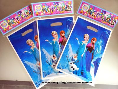Picture of Disney Frozen Lolly/Loot Treat Party Bag A - Set of 10