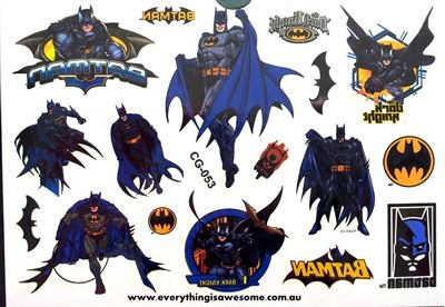 Picture of Batman Temporary Tattoo