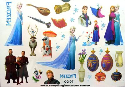 Picture of Disney Frozen Temporary Tattoo CG-001