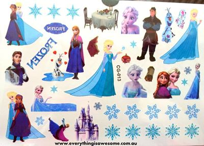 Picture of Disney Frozen Temporary Tattoo CG-013