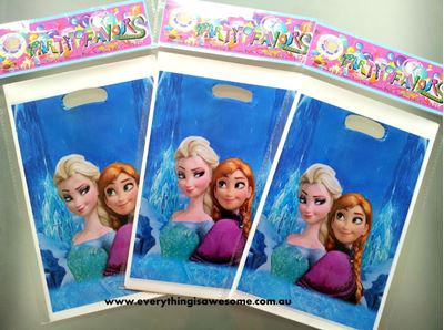Picture of Disney Frozen Lolly/Loot Treat Party Bag B - Set of 10
