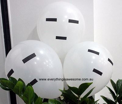 Picture of New 10 pcs Minecraft Ghasts Balloons