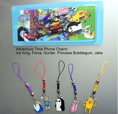 Picture of Adventure Time Phone Metal Charms Set A - Jake