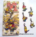 Picture of Despicable Me Metal Bracelet Charms Keychain Set 5