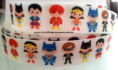 Picture of 1M Justice League Superheroes Ribbon