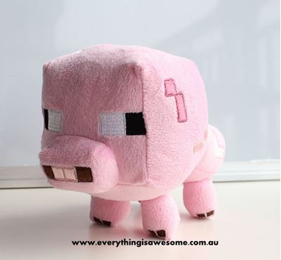 Picture of  New Minecraft Plush Baby Pig