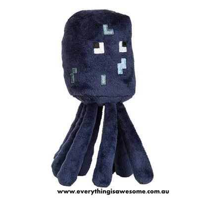 Picture of New Minecraft Plush Squid