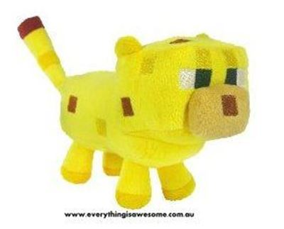 Picture of New Minecraft Plush Ocelot