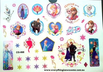 Picture of Disney Frozen Temporary Tattoo CG-068