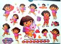 Picture of New Dora the Explorer Temporary Tattoo