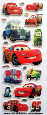 Picture of New Disney Cars Puffy Sticker - 1034