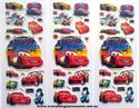 Picture of Mixed Design New Disney Cars Puffy Stickers