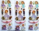 Picture of Mixed Design New Sofia the First  Puffy Stickers