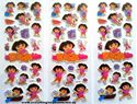 Picture of Mixed Design New Dora the Explorer Puffy Stickers