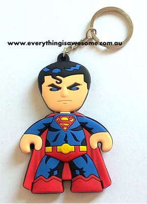 Picture of New Superman Keyring Keychain