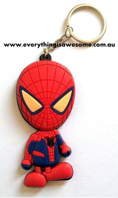 Picture of New Spiderman Keyring Keychain