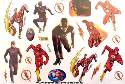 Picture of The Flash Temporary Tattoo