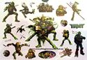 Picture of Teenage Mutant NInja Turtles TMNT Temporary Tattoo