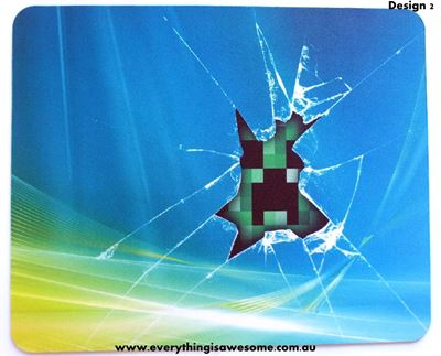 Picture of Minecraft Mousepad Mouse pad Mouse Mat Design 2
