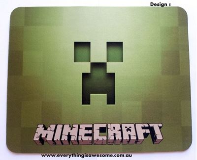 Picture of Minecraft Mousepad Mouse pad Mouse Mat Design 5