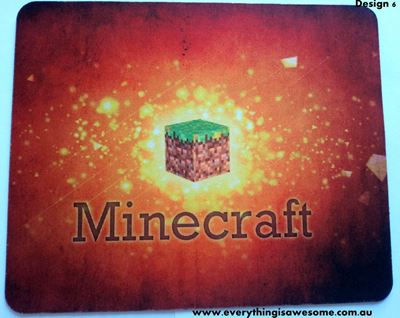 Picture of Minecraft Mousepad Mouse pad Mouse Mat Design 6