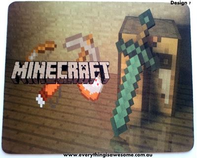 Picture of Minecraft Mousepad Mouse pad Mouse Mat Design 7