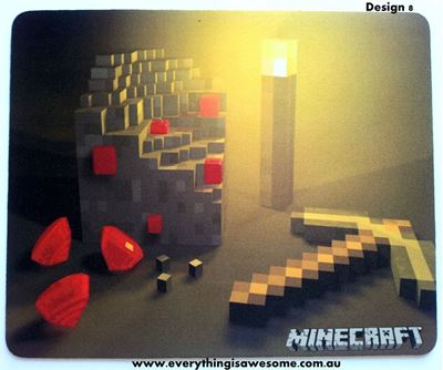 Picture of Minecraft Mousepad Mouse pad Mouse Mat Design 8