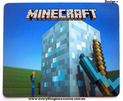 Picture of Minecraft Mousepad Mouse pad Mouse Mat Design 9