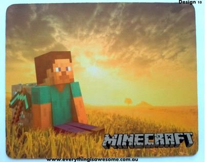 Picture of Minecraft Mousepad Mouse pad Mouse Mat Design 10
