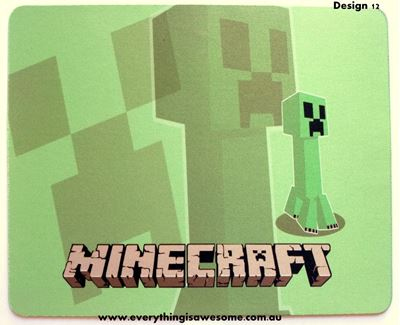 Picture of Minecraft Mousepad Mouse pad Mouse Mat Design 12