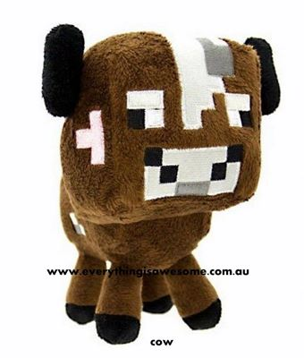 Picture of New Minecraft Plush Cow