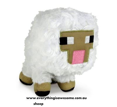 Picture of New Minecraft Plush Sheep