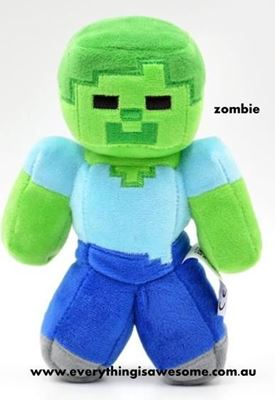 Picture of New Minecraft Plush Zombie