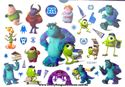 Picture of Monsters University Temporary Tattoo
