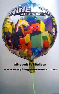 Picture of  New 5 pcs Minecraft Foil Balloon