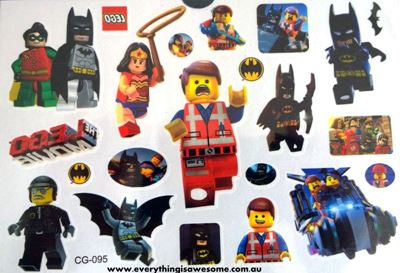 Picture of Lego Movie Temporary Tattoo