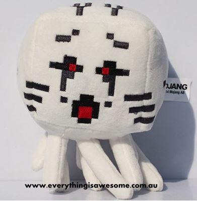 Picture of New Minecraft Plush Ghast Red Eyes