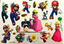 Picture of Super Mario Bros Temporary Tattoo