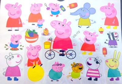 Picture of Peppa Pig Temporary Tattoo CG-172