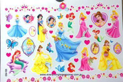 Picture of Disney Princesses CG-123 Temporary Tattoo