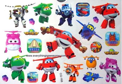 Picture of Robocar Poli Temporary Tattoo