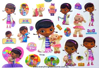 Picture of Doc McStuffins Temporary Tattoo
