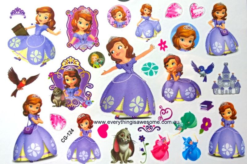 Everything is awesome princess sofia the first cg 124 for Sofia the first tattoos