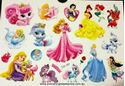 Picture of Disney Princesses CG-167 Temporary Tattoo