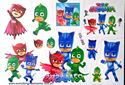 Picture of PJ  Masks CG-203 Temporary Tattoo