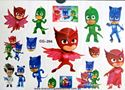 Picture of PJ  Masks CG-204 Temporary Tattoo