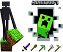 Picture of New Minecraft Wall Decal Sticker # 2