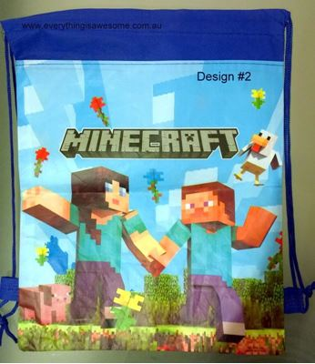 Picture of Minecraft Library Bag Design #2